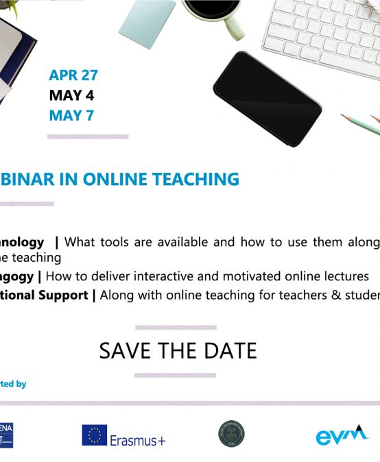 Webinar on Online Teaching offered by ATHENA European University Consortium, 27th of April, 4th & 7th of May 2020 Copy